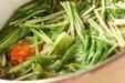 水菜のサッと煮の作り方4