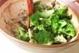 ブロッコリーのゴマ汚しの作り方2