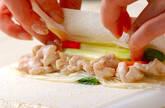 素麺春巻きの作り方11