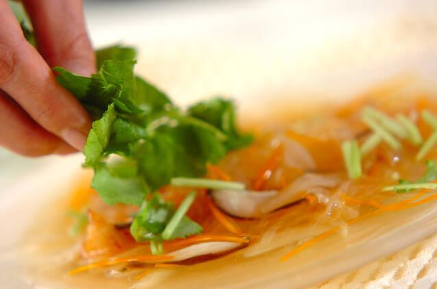 サクサク白身魚の野菜たっぷりあんかけの作り方の手順10