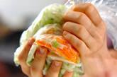 白菜のコールスローの作り方6