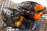 焼きパプリカのカラフルマリネの下準備1