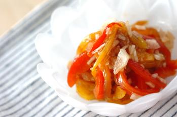 焼きパプリカのカラフルマリネ