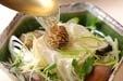 アサリと豆腐の酒蒸しの作り方1