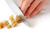 干しイモトーストの作り方の手順1