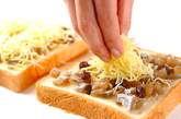 干しイモトーストの作り方2