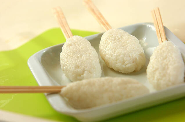 五平餅風焼きおにぎりの作り方の手順3