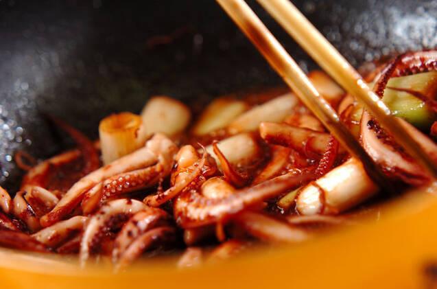 イカゲソのうま煮の作り方の手順5