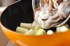 イカゲソのうま煮の作り方の手順4