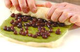 抹茶のうずまきパンの作り方11