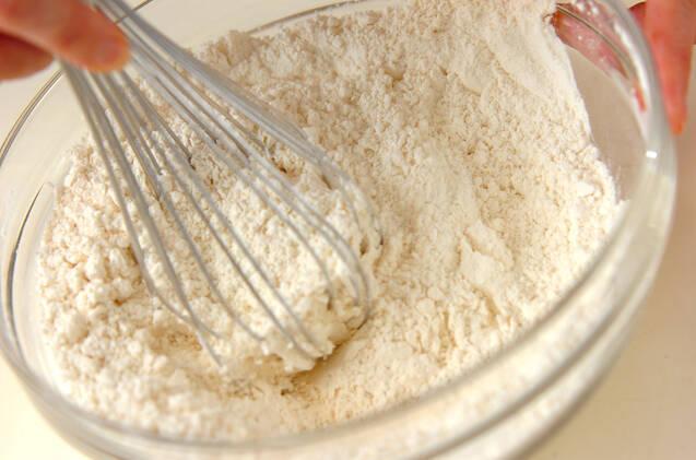 抹茶のうずまきパンの作り方の手順3