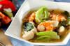 豆腐の中華うま煮の作り方の手順