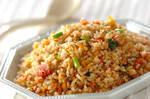 鮭の玄米チャーハン