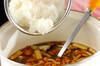 キノコのみぞれ汁の作り方の手順2
