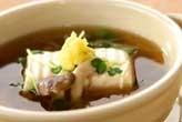 豆腐のあんかけ汁