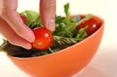 ミツバのカリカリジャコサラダの作り方1