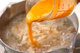春雨のかきたまスープの作り方2
