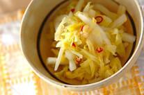 白菜のゴマ油風味和え