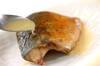 サバのレモンバター焼きの作り方の手順3