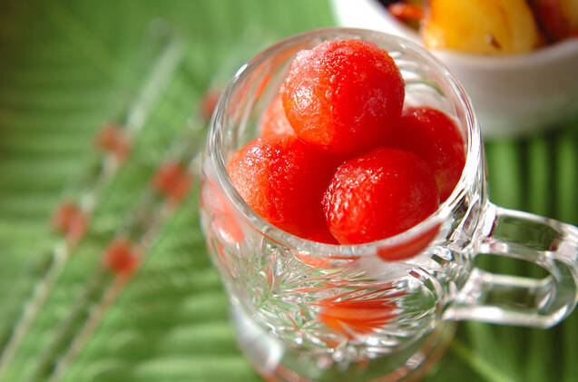 プチトマトシャーベット