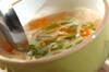 残り野菜のみそ汁の作り方の手順3