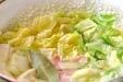 春キャベツのスープの作り方6