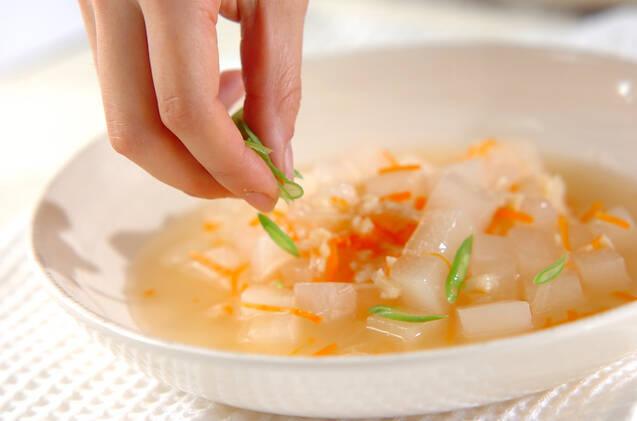 大根のホタテスープ煮の作り方の手順4