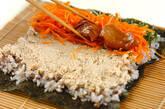 クルミ豆腐巻き寿司の作り方3