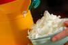 オレンジヨーグルトの台湾風かき氷の作り方の手順5