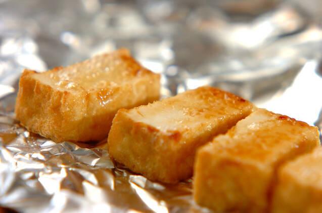 厚揚げのしょうゆマヨネーズ焼きの作り方の手順2