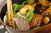 焼き肉炒めの作り方2
