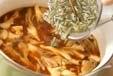 ジュンサイのみそ汁の作り方1