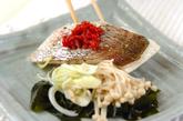 白身魚の梅肉蒸しの作り方2