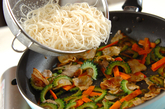 ゴーヤのカレー風味素麺チャンプルーの作り方3