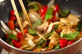 コンニャク入り酢豚風炒めの作り方2