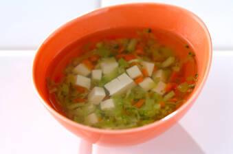 豆腐と野菜のだし煮