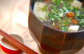 おろしくずし豆腐汁