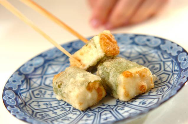 大葉巻きひとくち揚げだし豆腐の作り方の手順6