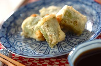 大葉巻きひとくち揚げだし豆腐