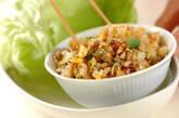 レタス包み納豆チャーハンの作り方11