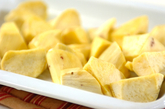 サツマイモのクミン風味サラダの下準備1