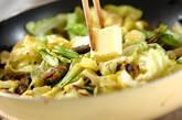 春キャベツのサーディン炒めの作り方2