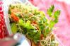 素麺エスニックサラダ