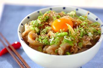 がっつりスタミナ!すた丼(東京)