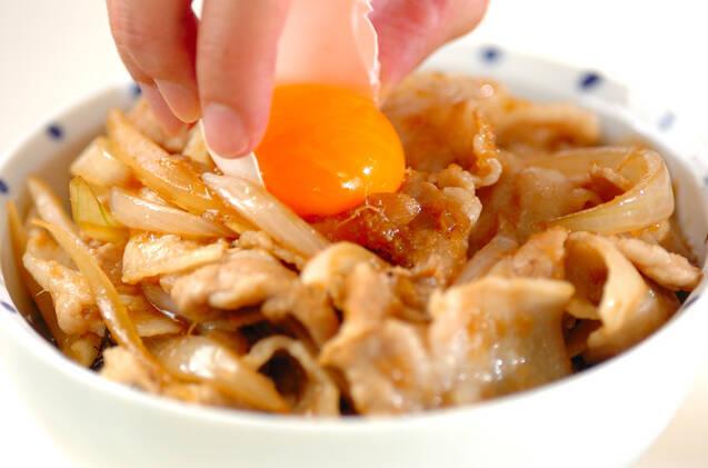 がっつりスタミナ!すた丼(東京)の作り方の手順6