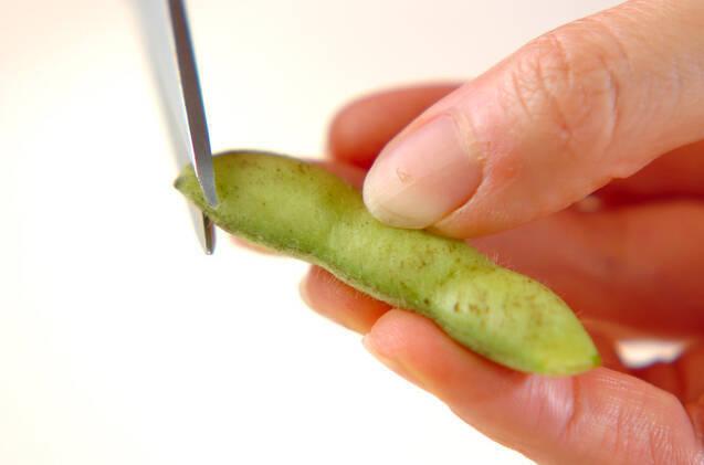 塩枝豆の作り方の手順1
