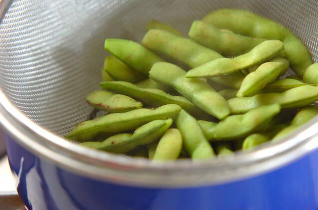 塩枝豆の作り方の手順3