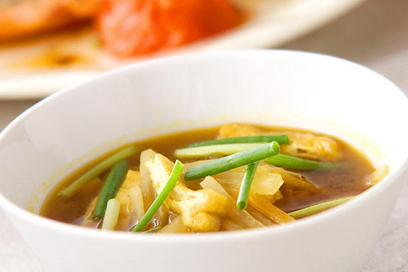 3.簡単カレースープ