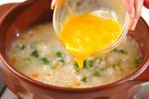 ショウガとカブの押し麦がゆの作り方4