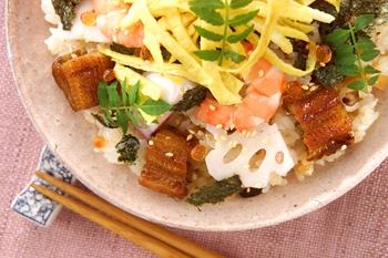 華やかちらし寿司